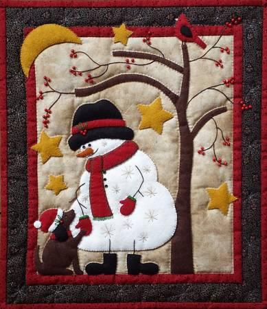 Frosty & Friend Wall Quilt Kit - Rachel's Of Greenfield
