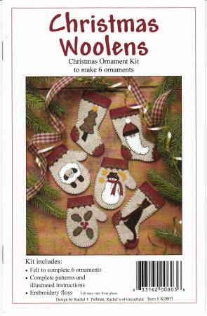 Christmas Woolens Ornaments Kit