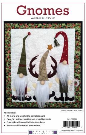 Gnomes Quilt Kit