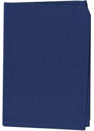 Chambray Navy Solid Tea Towel from Dunroven House