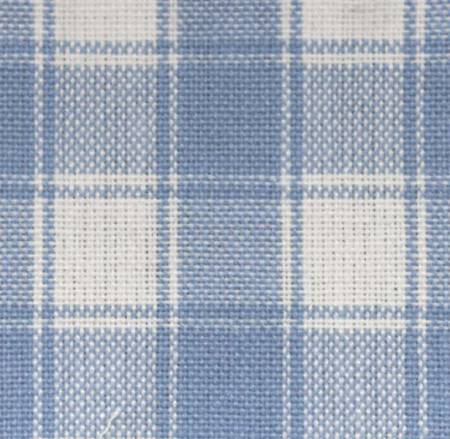 Tea Towel Housecheck Light Blue/White