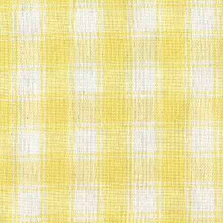 Tea Towel Housecheck Yellow/White