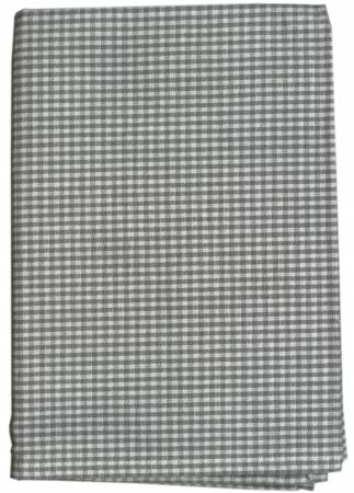 Tea Towel Mini Check Grey/White