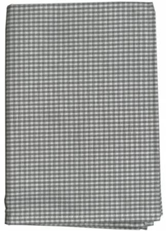 Tea Towel Mini Check Grey/White  20 x 28  K315-GY