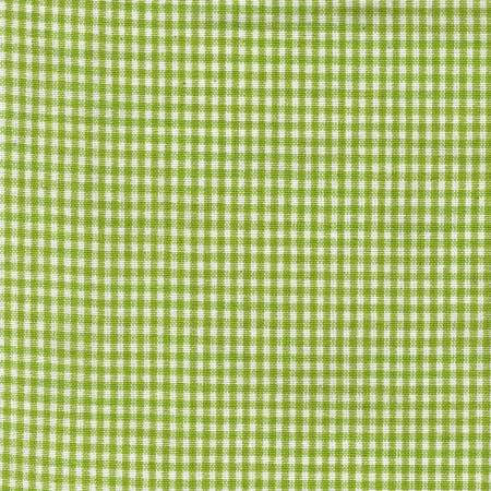 Tea Towel Mini Check Lime/White