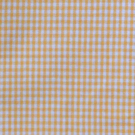 Tea Towel Mini Check Melon/White