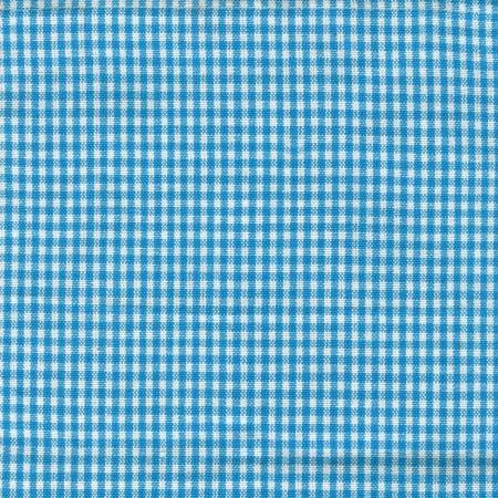 Tea Towel Mini Check Turquoise/ White
