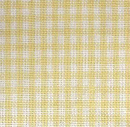 Tea Towel Mini Check Yellow/White