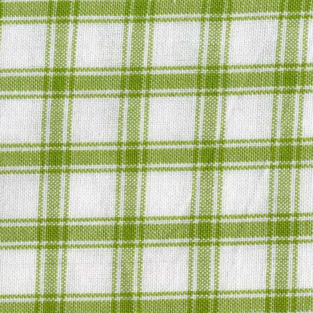 Tea Towel Lime Green Check with Cream Background