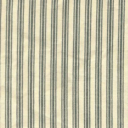 Tea Towel Ticking Stripe Green/Cream