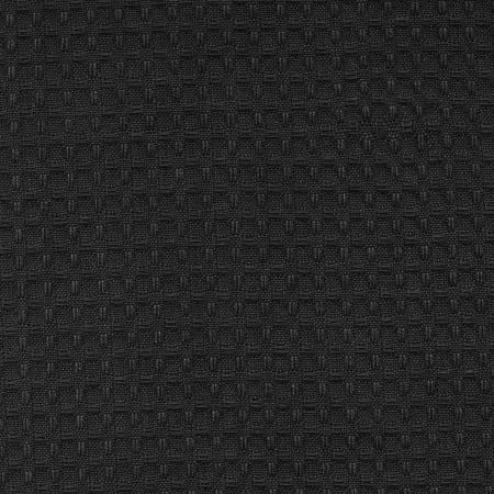 Tea Towel Waffle Weave Black