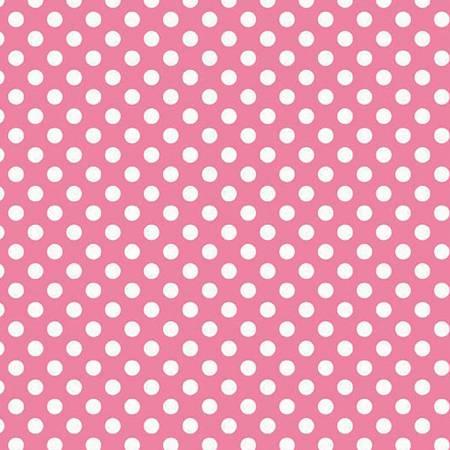 Knit - Small Dots Hot Pink