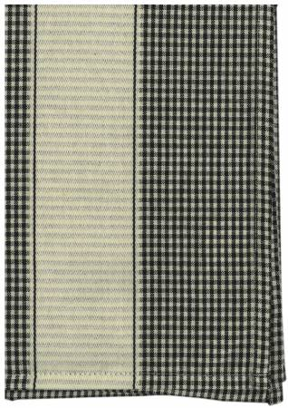 Tea Towel Provence Black/Cream