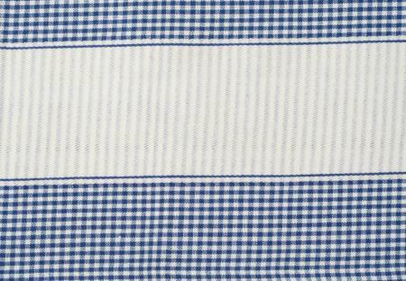 Dunroven House Tea Towel Provence Blue Cream