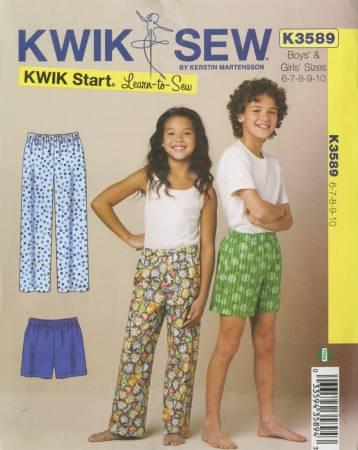 Boys Girls Pajama Pants and Shorts