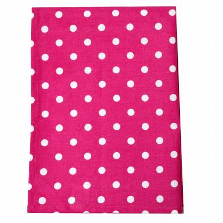 Tea Towel Polka Dot Pink