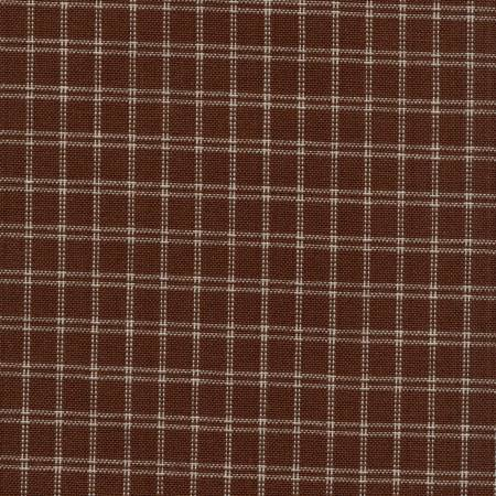 Tea Towel Window Pane Brown/Cream