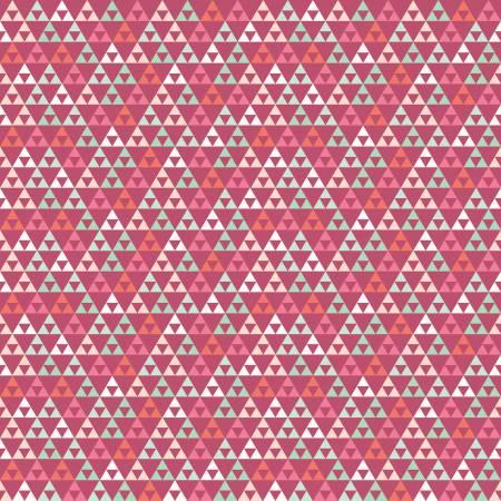 Trend Triangle Raspberry Knit