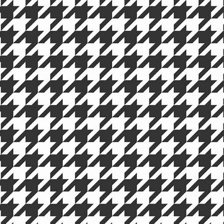Houndstooth Black in Knit