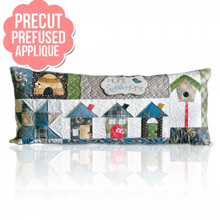Home Sweet Home Bench Pillows - August with pattern