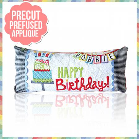Birthday Bench Pillow Kit - For Any Month