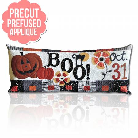 Boo Bench Pillows - October with pattern
