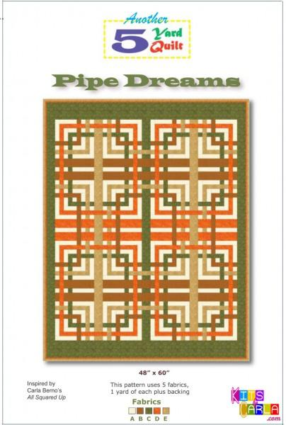 5 Yard Quilt Pipe Dreams
