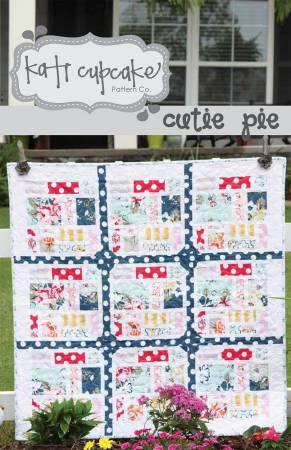 Cutie Pie Quilt Pattern by Kati Cupcake KC167