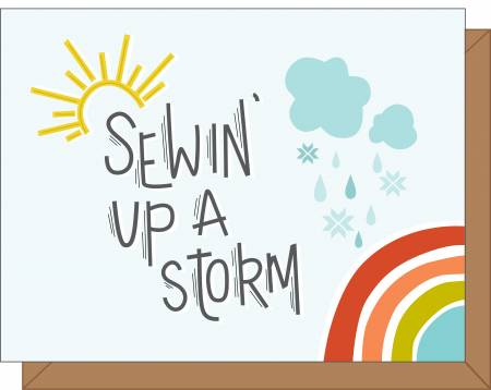 Sewin' Up A Storm Gift Card