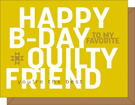 Happy B-Day Card