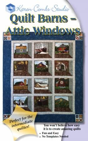 Quilt Barns - Attic Windows