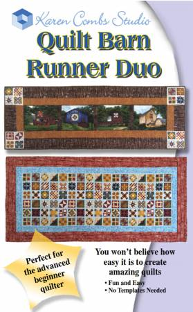 Quilt Barn Runner Duo