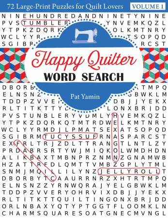 BK Happy Quilter Word Search - Softcover