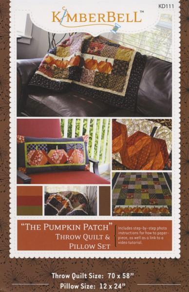 Pumpkin Patch Throw Quilt & Pillow Set