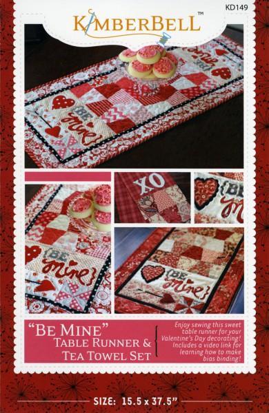 Be Mine Table Runner & Tea Towel Set