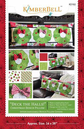 Deck the Halls Bench Pillow