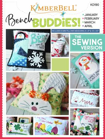 Bench Buddy Series January - April - Sewing Version