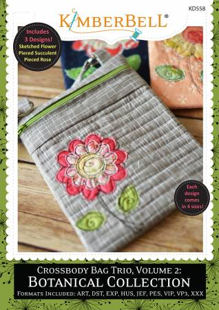 Crossbody Bag Trio Volume 2 Botanical Collection CD