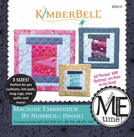 Machine Embroider by Numbers (Spool) - KD619