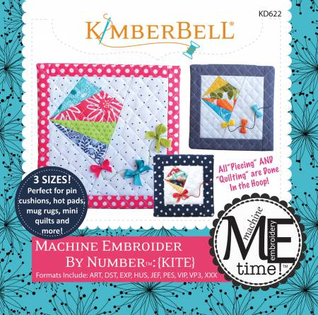 Machine Embroider by Number: (Kite) - KD622