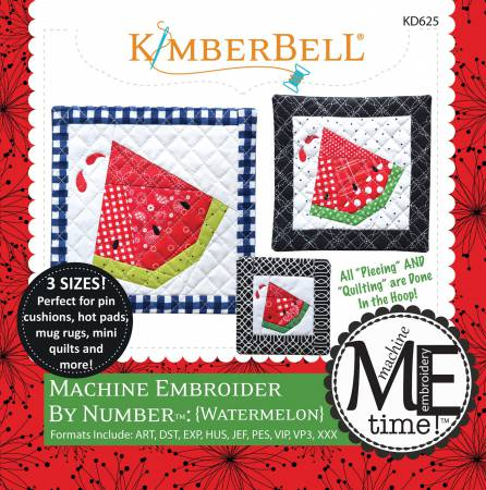 Watermelon Machine Embroidery CD KD625