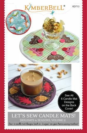 Let's Sew Candle Mats! V.1 - Kimberbell - KD713
