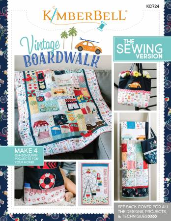 Vintage Boardwalk Sewing Version Book KD724