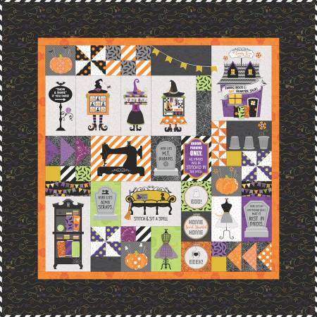 Candy Corn Quilt Shoppe Sewing Version