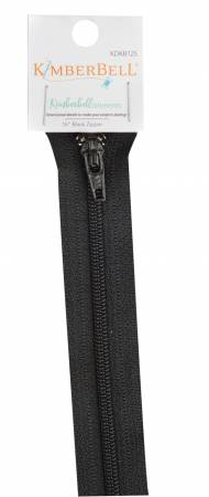 Kimberbellishments 16-Inch Black Zipper