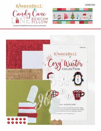 Kimberbell Candy Cane Lane Embellishment Kit