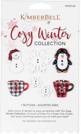Cozy Winter Collection Buttons KDKB168