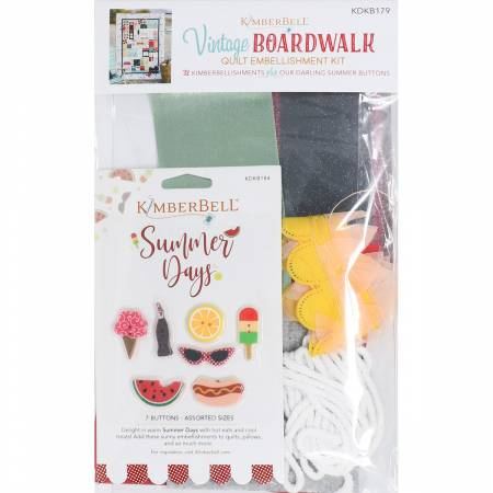 Vintage Boardwalk Embellishment Kit