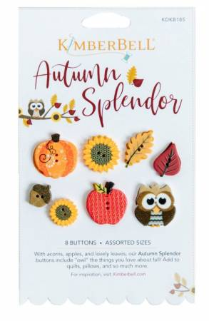 KimberBell: Autumn Splendor Button Set