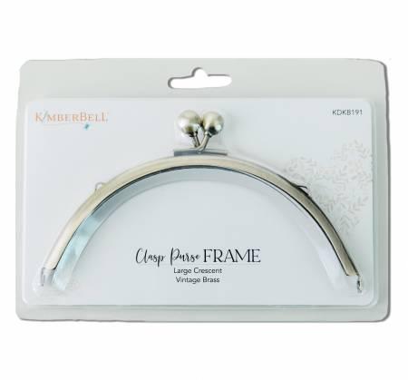 Kimberbell - Clasp Frame Vintage Brass (Large Crescent)